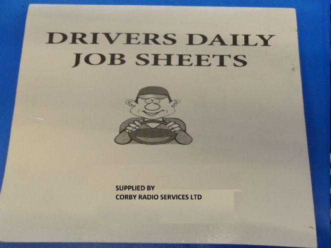 TAXI METER DRIVER DAILY JOB BOOK A5 SMALL CASH TAKINGS UK
